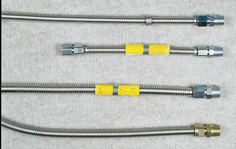 Stainless Steel Gas Connectors