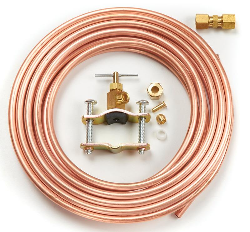 Copper Ice-Maker Water Supply Kit