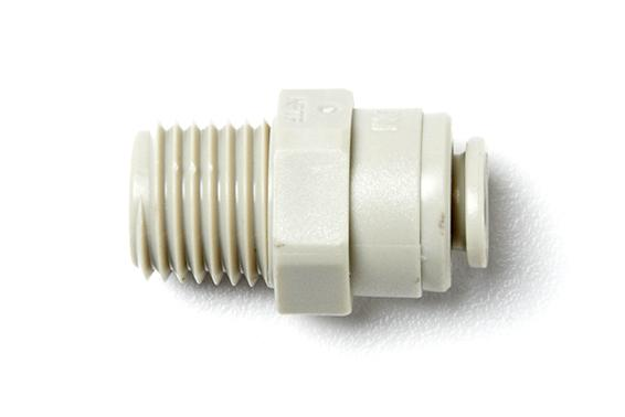 Plastic Push-In Male Connector