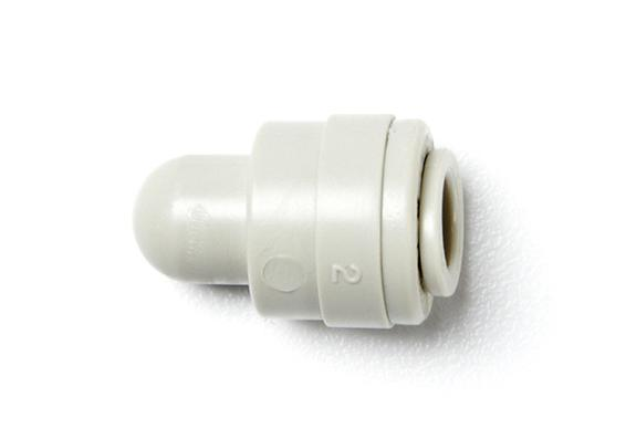 Plastic Push-In Tube End Stop